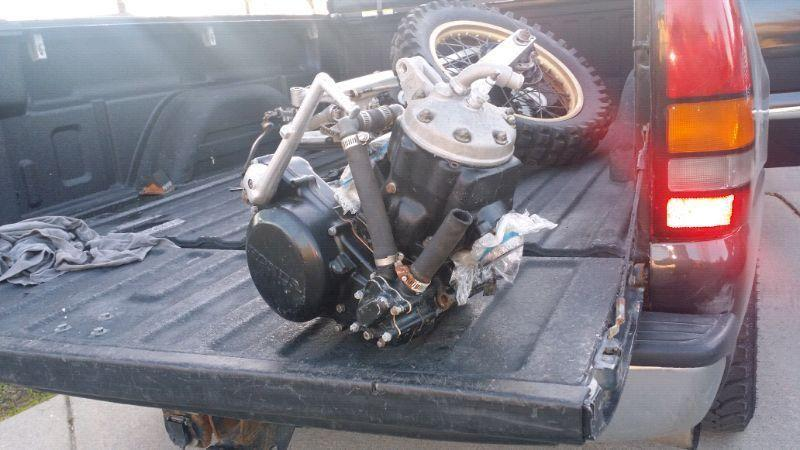 Cr 500 engine