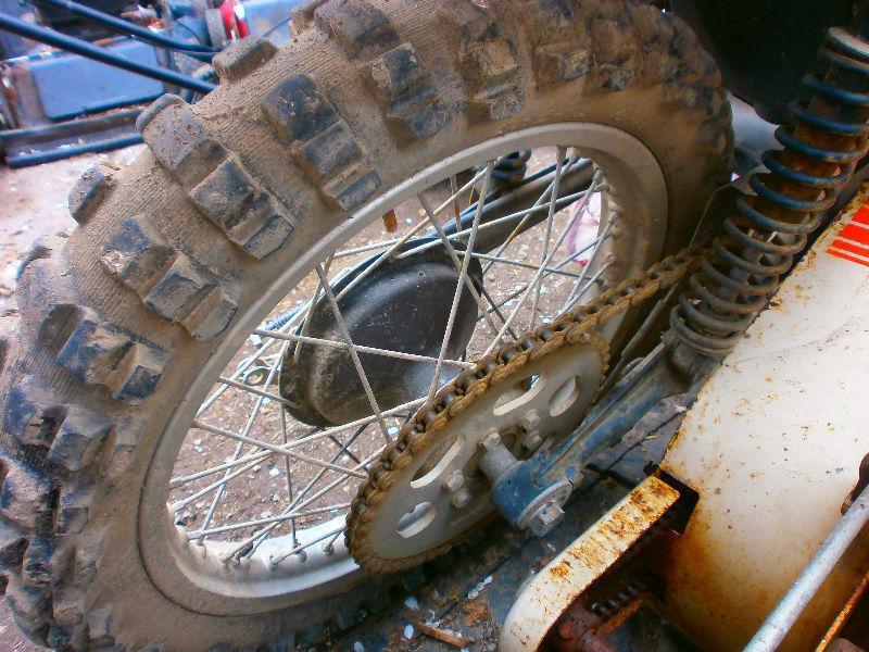 1976 175 MX2 can am dirt bike