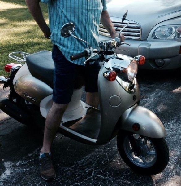 Yamaha vino 50cc scooter