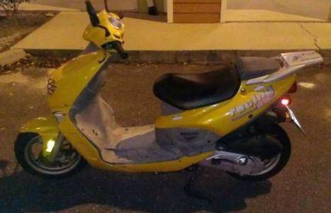 Great Scooter with spare