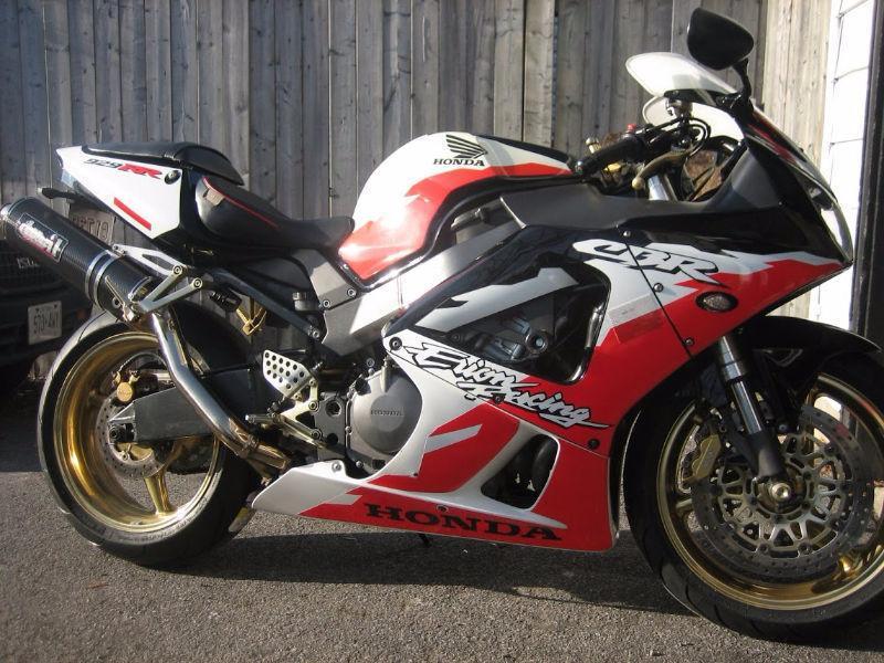 Honda CBR929RR Erion - Corbin seat, Devil full exhaust