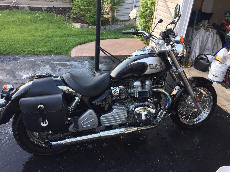 Motorcycle for sale: Triumph Bonneville American