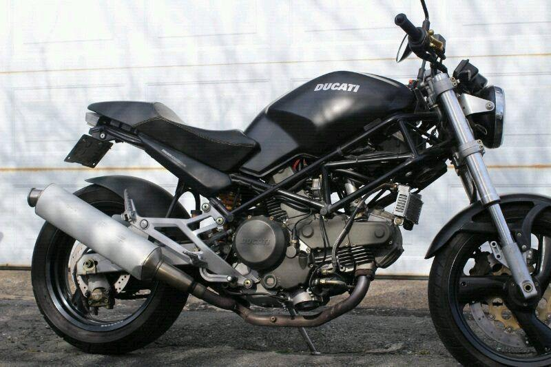 1999 Ducati monster 750 dark rare Italian motorcycle