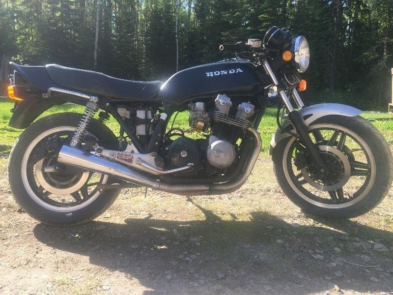 (4) CB 750F SUPERSPORTS