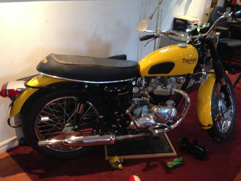 1969 Triumph 650 Trophy