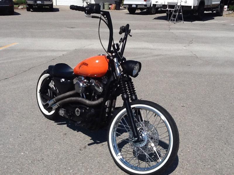 Harley Davidson Custom Bobber