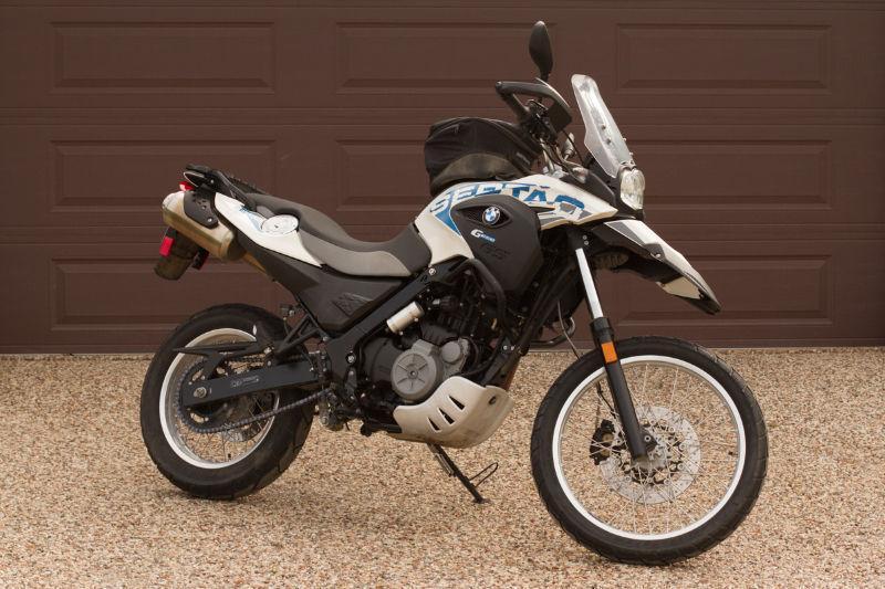 BMW G650GS Sertao Dual Sport Adventure Motorcycle