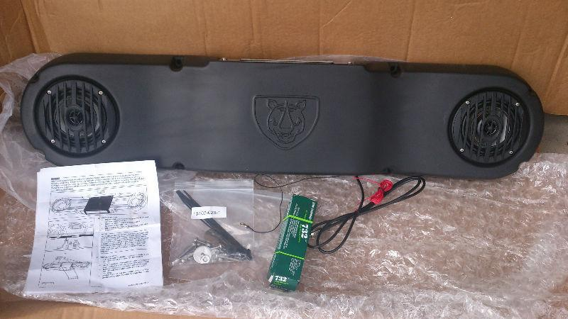 Yamaha UTV Side X Side Dashboard Audio Housing Kit