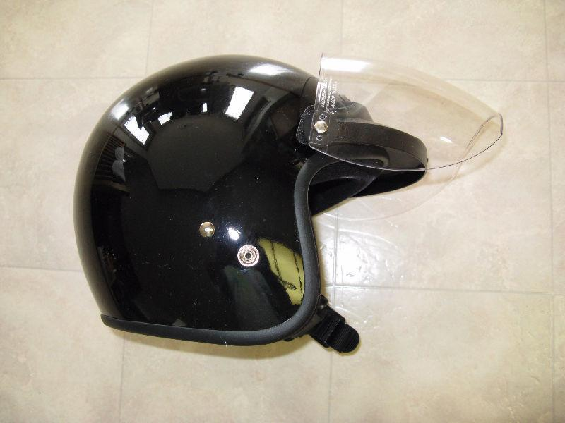 ATV/Dirt Bike/ Snowmobile Black Helmets (4 For Sale)