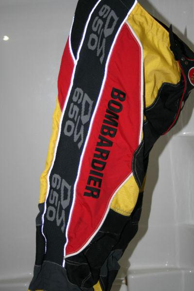 Used Bombardier DS 650 Riding Pants