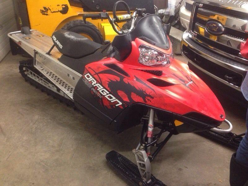 2010 Polaris Dragon 163