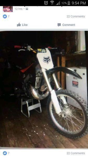 Wanted: Looking to buy dirt bike