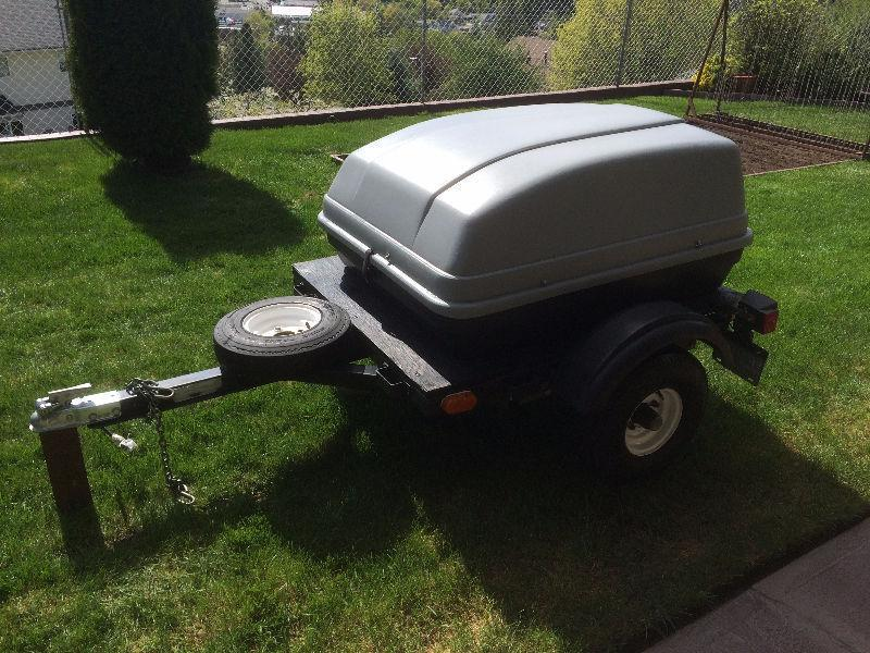 Summer's coming - motorcycle trailer!