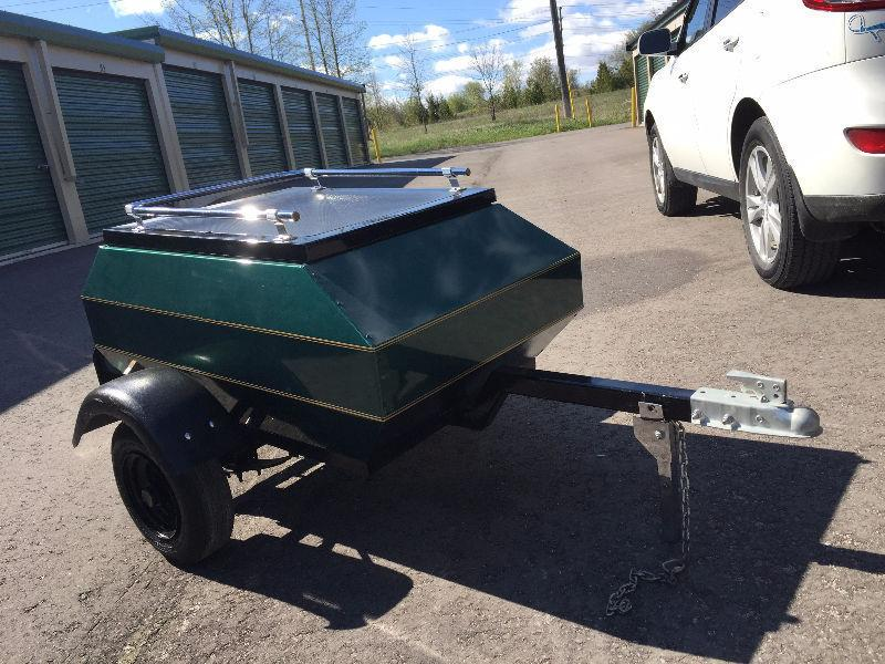 Motorcycle/small car trailer
