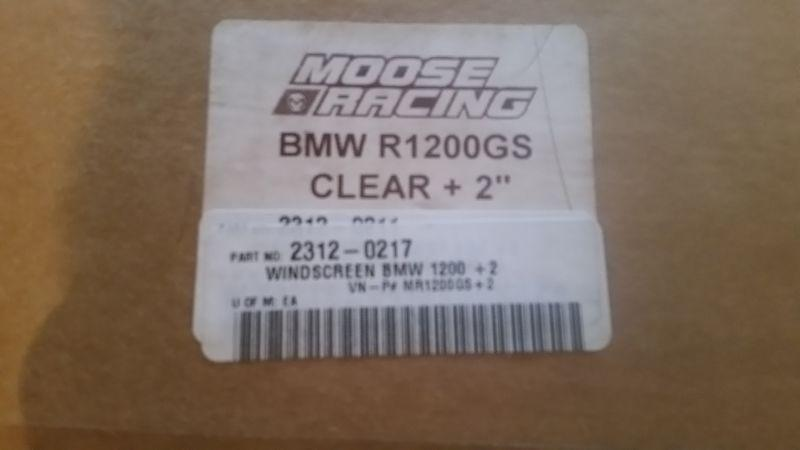 Moose Racing windshield for BMW R1200GS
