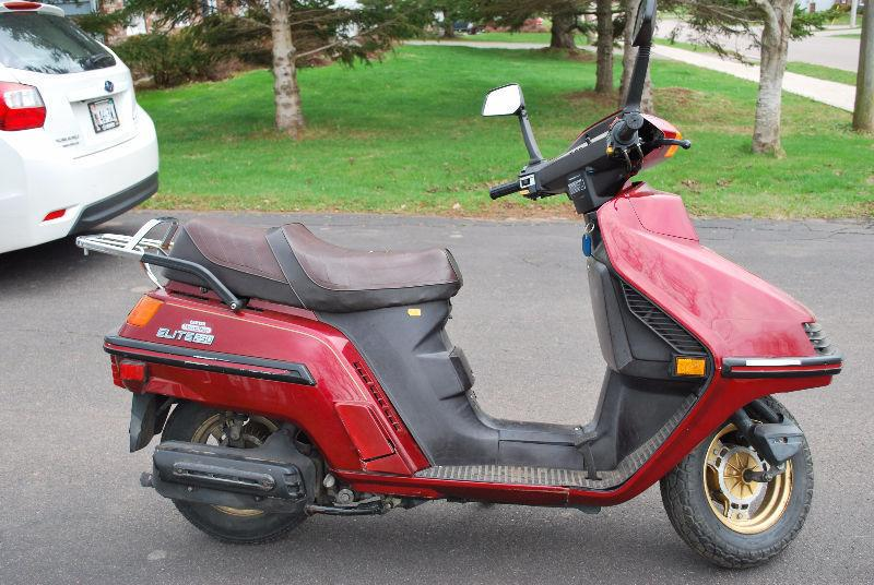 1985 Honda Elite 250cc Scooter For Sale