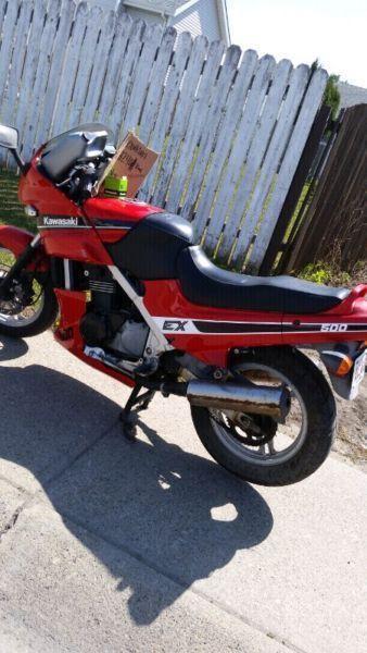 1987 Kawasaki EX500 (ninja)
