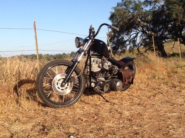 1966 Harley Shovelhead Bobber