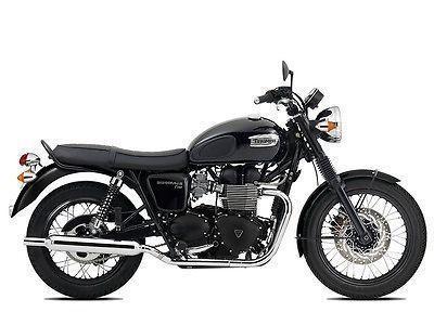 2015 Triumph Bonneville T100 Black