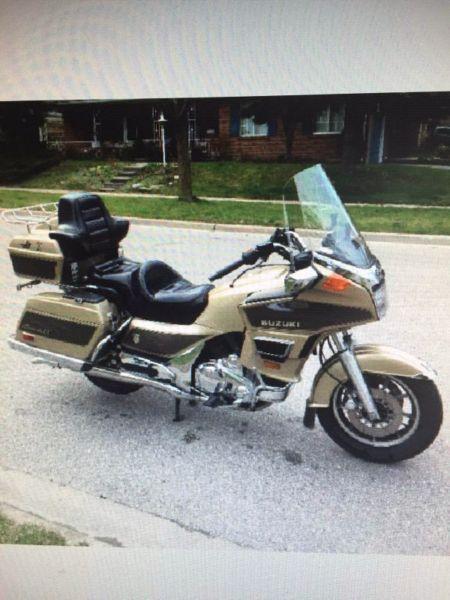 $3800 '86 Suzuki Cavalcade LX 1400cc