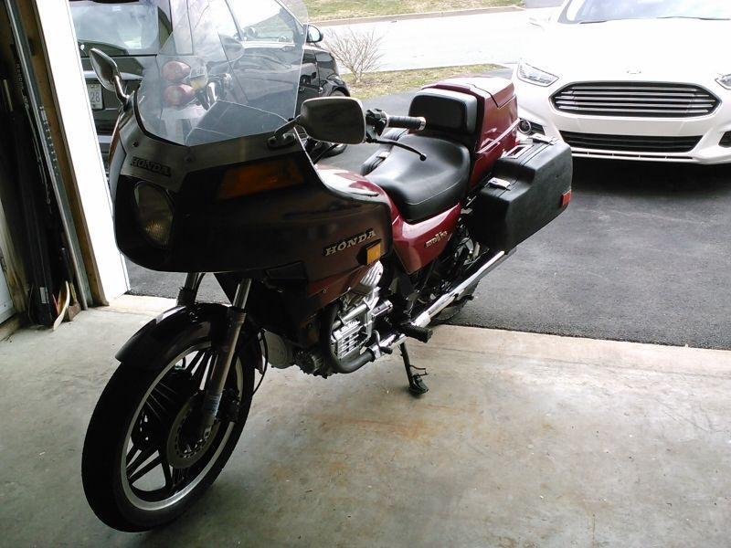 1981 Honda Silverwing Interstate GL500