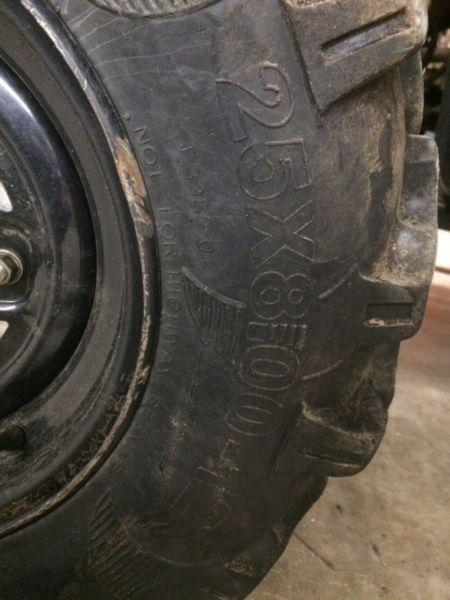 Mud cat tires