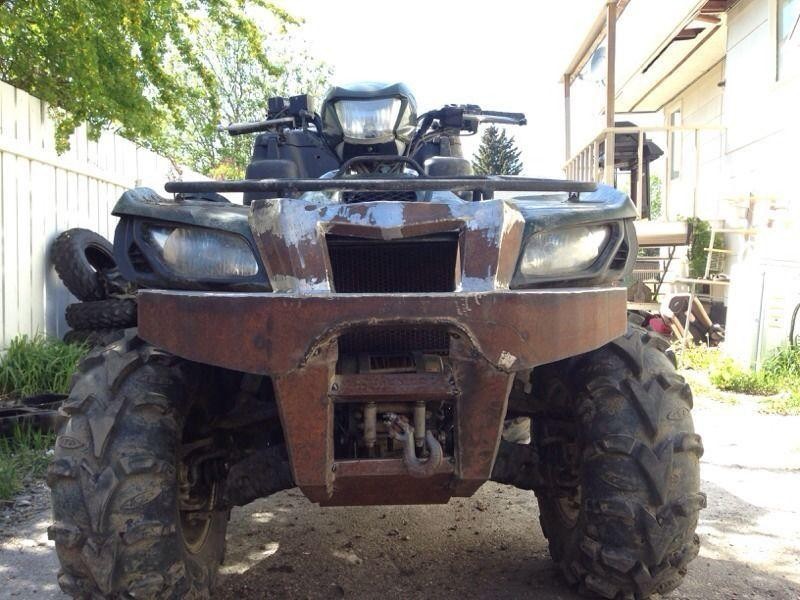 Custom ATV bumper builds