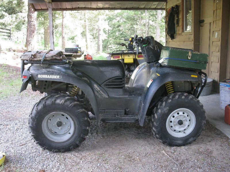 Bombardier ATV for sale