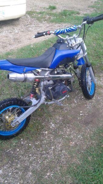 125 cc dirt bike