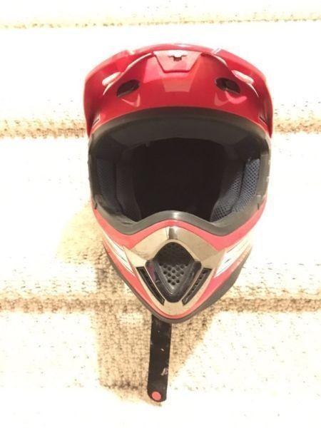 Fuel Dirt Bike Helmet