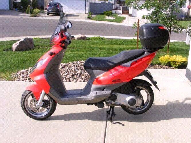 2006 Derbi Boulevard 150cc scooter