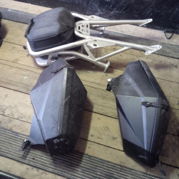 Polaris Pro R - Switchback Cargo Rack and Saddle Kit