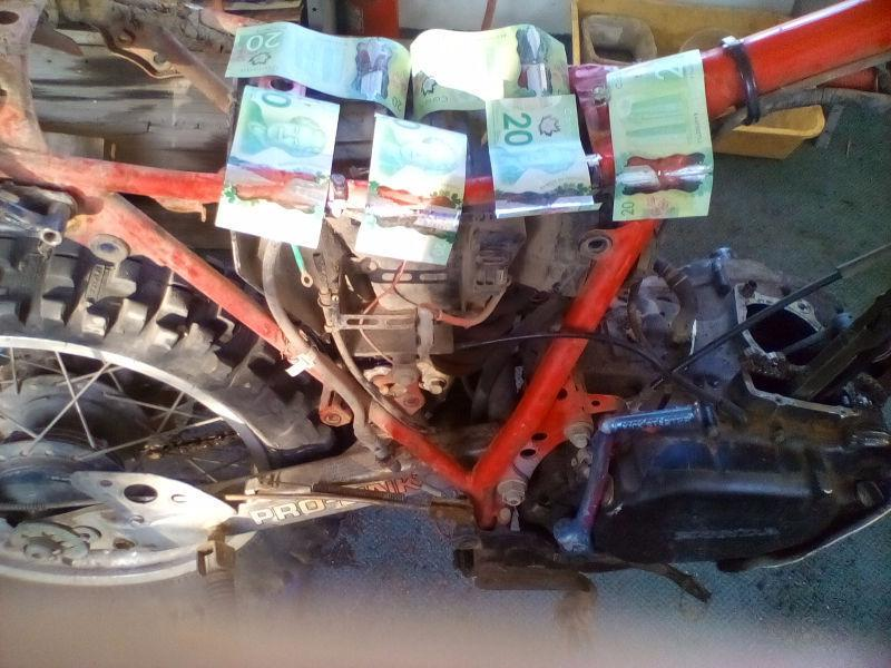 Wanted: Wanted Honda dirt bike in need of repair