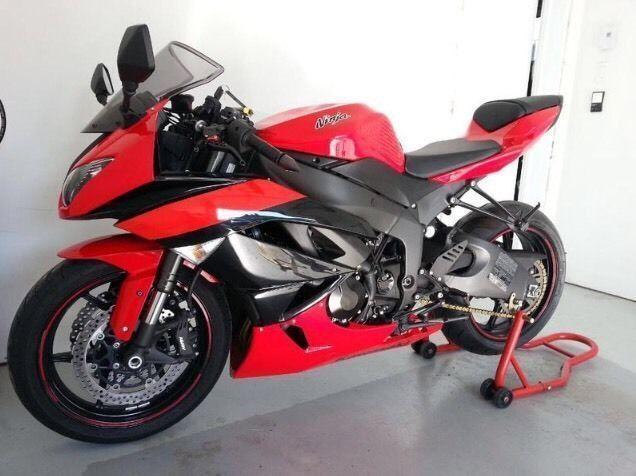 Kawasaki zx6r ninja 2012