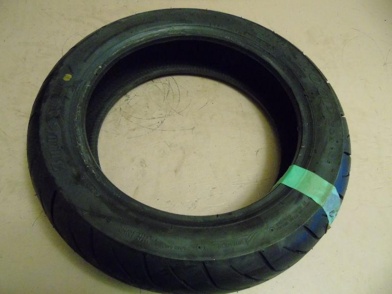 (Used) Bridgestone 130/70-13 hoop rear scooter tire / #5071