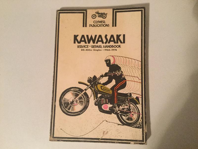 Kawasaki 80-450 Singles 1966-1976 Shop Manual KX125 KT250 GA2 F6