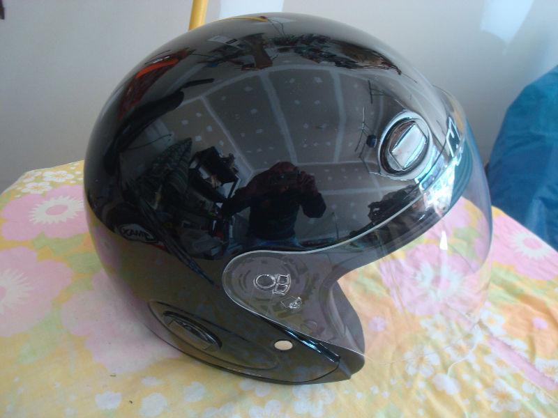 Motor Cycle Helmet DOT HJC (Black) Full Face; Brand new in box
