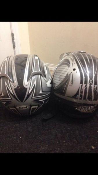 Dirt Biking helmets for sale