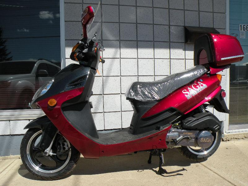 New SAGA Deluxe/Quest 150cc Gas Scooters in  on SALE!!