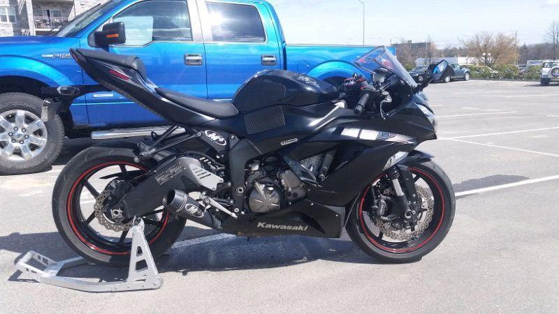 2014 ZX6R FOR SALE