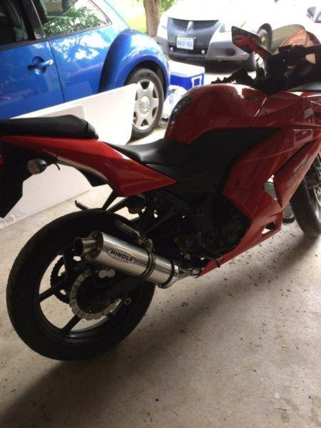 Ninja 250R need gone tonight