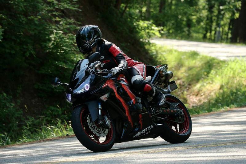 2006 Zx6R 636 Custom Monster Energy