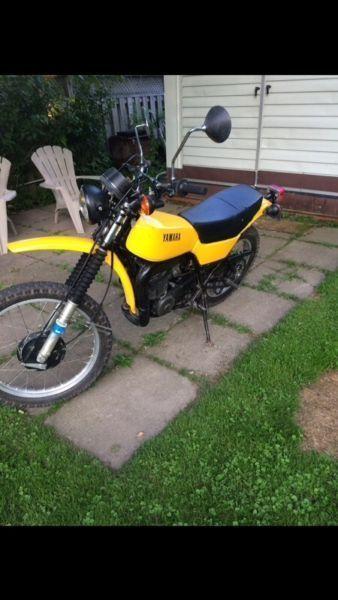 1978 YAMAHA DT 400
