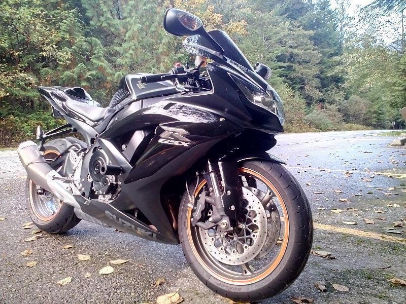 2009 Suzuki GSXR 750 $6800
