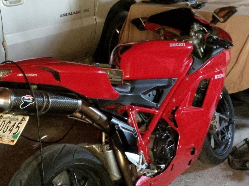 Ducati 1098 For sale AS IS. 9000 OBO