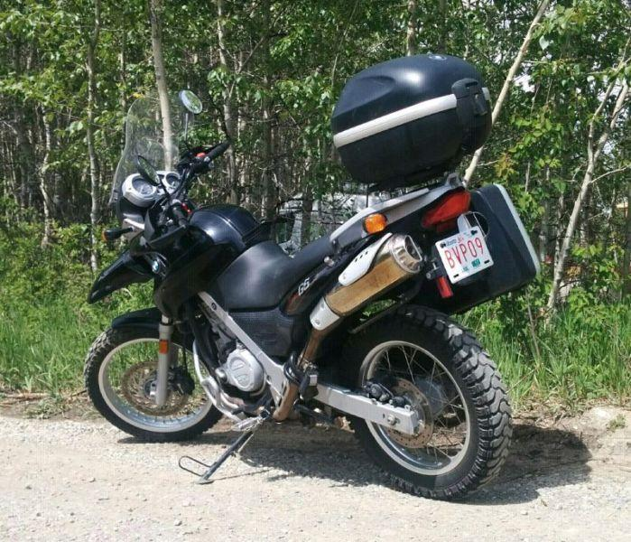 2005 BMW F650GS adventure bike. Well maintained, with extras!