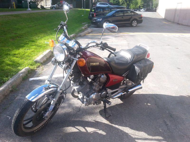 Clean bike ready to drive