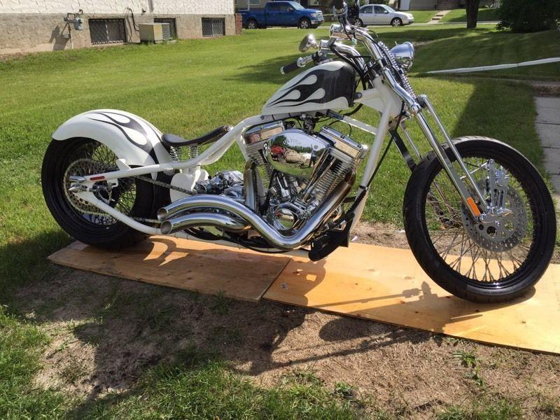 2012 custom rigid bobber for sale