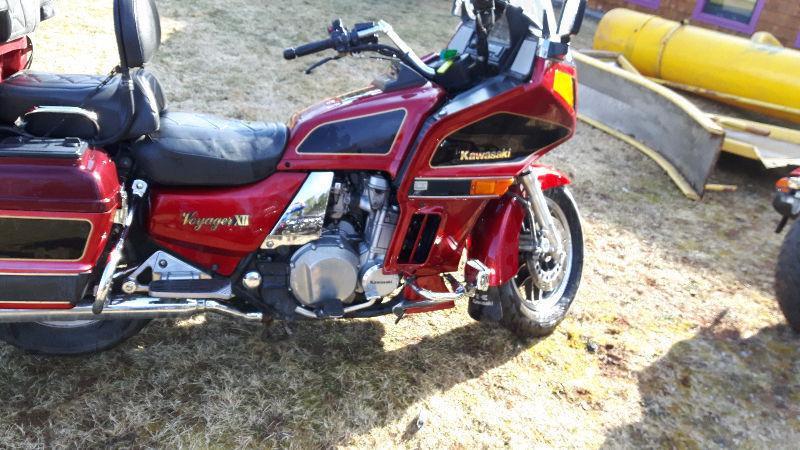 1996 kawasaki voyager 1200cc