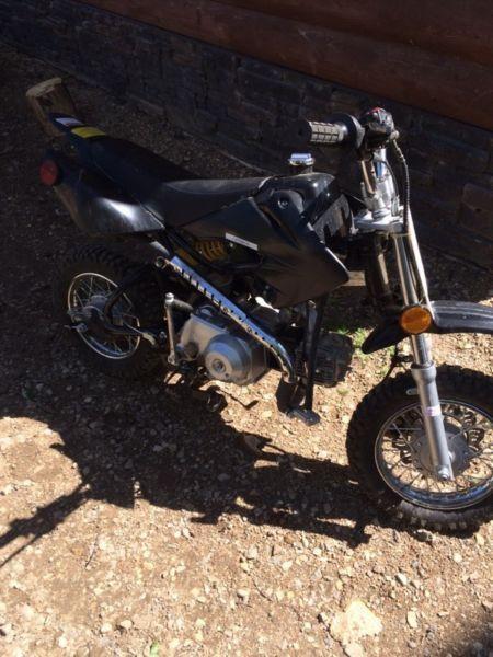 Wanted: 2013 Dirt bike 110 cc
